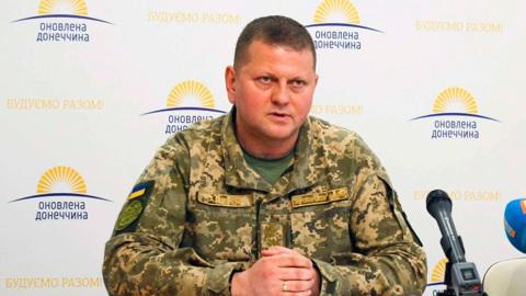 Зеленский сменил главнокомандующего ВСУ