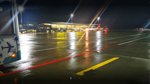 Самолет вынуждено сел в Казани по технической причине
