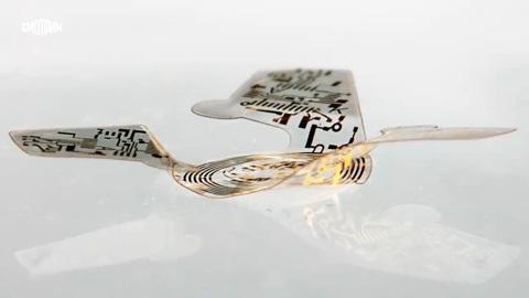 Создан самый миниатюрный летающий микрочип в мире