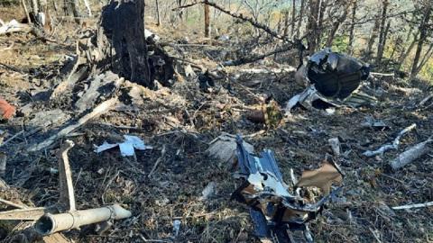 На месте крушения Ан-26 спасатели и следователи возобновили работу