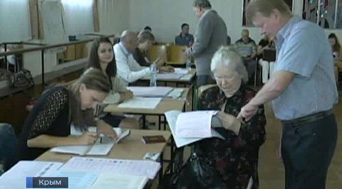Крым дружно проголосовал за политическое будущее