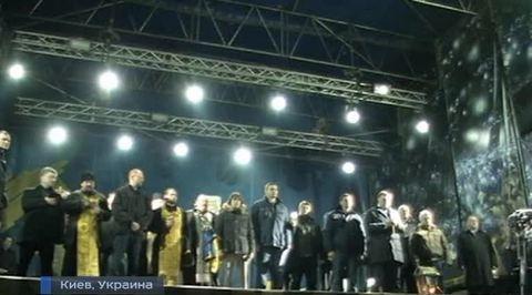 Год после Майдана: от мира к войне