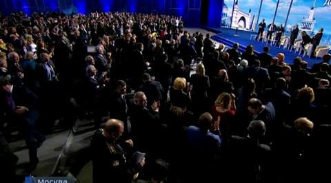 Наш ответ импорту, госзакупки и кино: Путин встретился с ОНФ