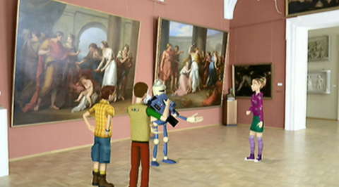 Путешествуй вместе с нами! Музей Академии художеств