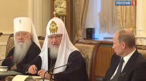 Патриарх Кирилл поддержал премьера