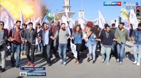 За взрывами в Анкаре могут стоять исламисты