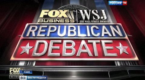 Предвыборные дебаты в США: воинственный Буш и брутальная Фиорина