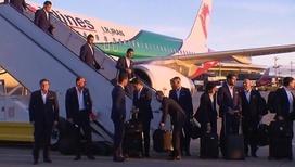 Первый участник ЧМ: сборная Ирана по футболу прибыла в Москву