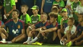 Аншлаг на трибунах: в Краснодаре провела открытую тренировку сборная Испании