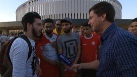 В Краснодаре в товарищеском матче встречаются Испания и Тунис