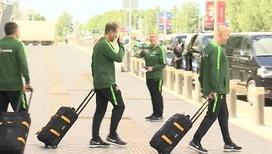 Футбольная сборная Австралии прилетела в Казань