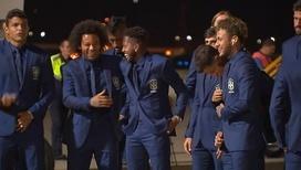 Футболисты сборной Бразилии прибыли в Сочи