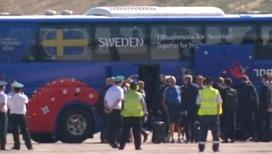 В Геленджик прилетела сборная Швеции