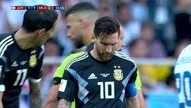 Лионель Месси и сборная Аргентины не справились с исландцами