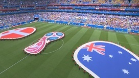 Футболисты Дании и Австралии завершили очный матч вничью