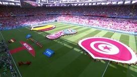 Бельгия разгромила Тунис благодаря дублям Лукаку и Азара