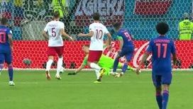 Фалькао удваивает преимущество сборной Колумбии