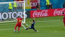 Насер Шадли на последней минуте матча приносит победу Бельгии