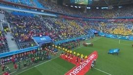 Гол Форсберга вывел сборную Швеции в четвертьфинал