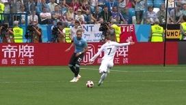 Французы забили второй гол в ворота сборной Уругвая