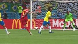 Кевин Де Брейне забивает гол, 2:0