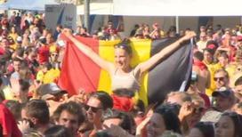 Команду Бельгии дома ждет чемпионский прием
