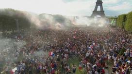 Париж ликует: Франция – чемпион!