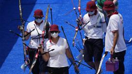 Российские лучницы победили немок и вышли в финал Олимпийских игр