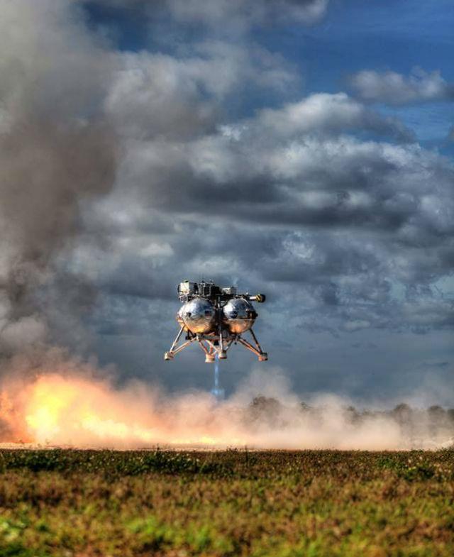 Тестирование посадочного модуля Project Morpheus NASA