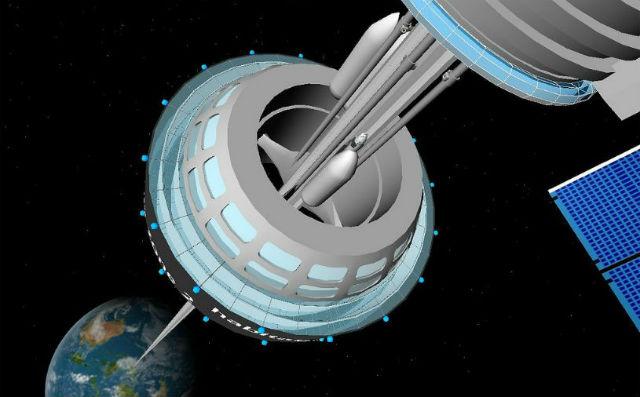 Алмазные наноцепи помогут построить космический лифт
