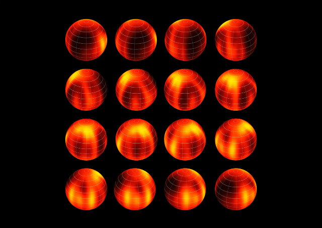 С помощью Очень Большого Телескопа учёным удалось составить подробнейшую карту поверхности Лумана 16B