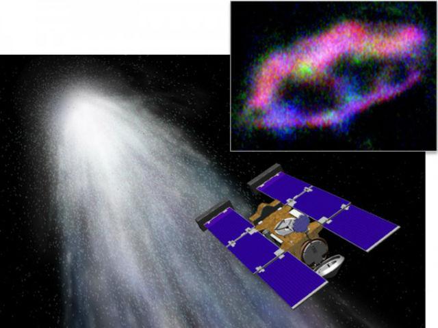Межзвёздные частицы пыли проходили сквозь панели аэрогеля, где и оставляли свой химический след