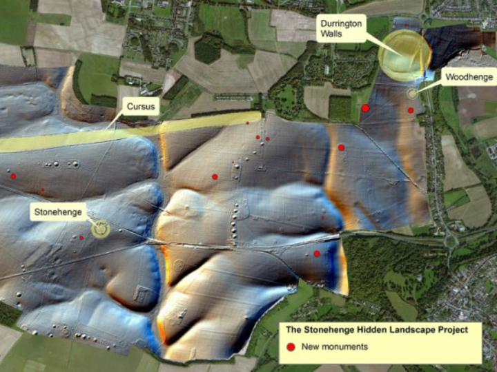 Применение геофизических технологий помогло лучше понять ландшафт Стоунхенджа