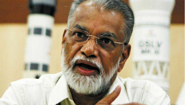 Коппиллил Радхакришнан, глава Индийской организации космических исследований