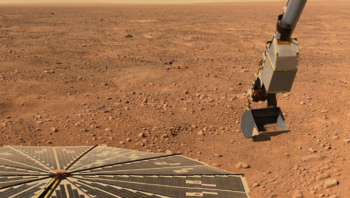 Зонд Phoenix Marslander, исследовавший арктические регионы Красной планеты, также обнаружил признаки солёной воды