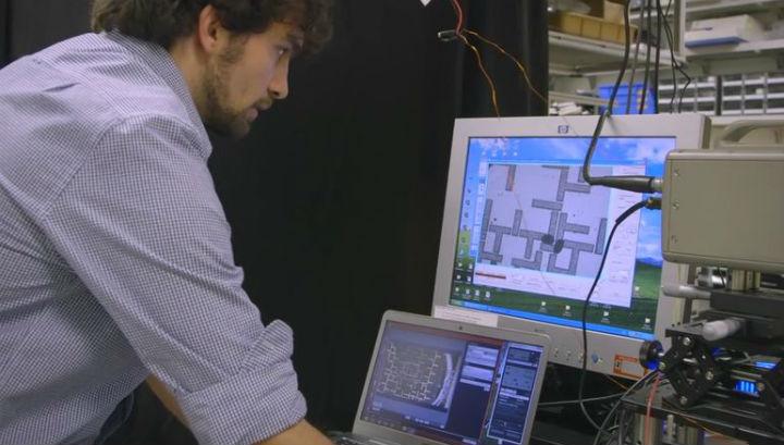 Синхронное движение капель по определённым схемам, снятое на камеру, кодирует информацию в бинарном коде