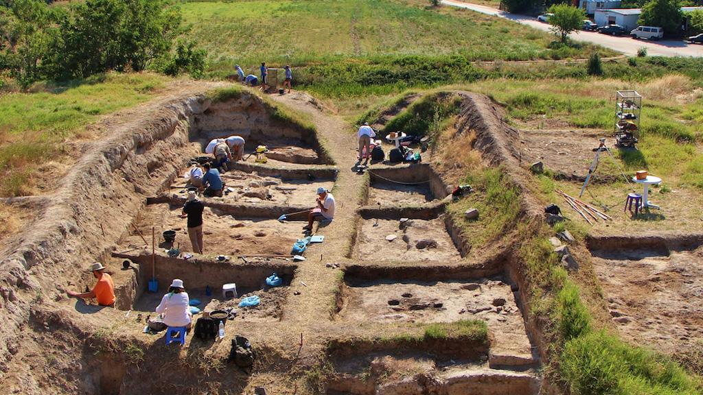 Болгария. Раскопки телля Юнаците. Фото: Balkan Heritage Foundation / Institute for Field Research Joint Program