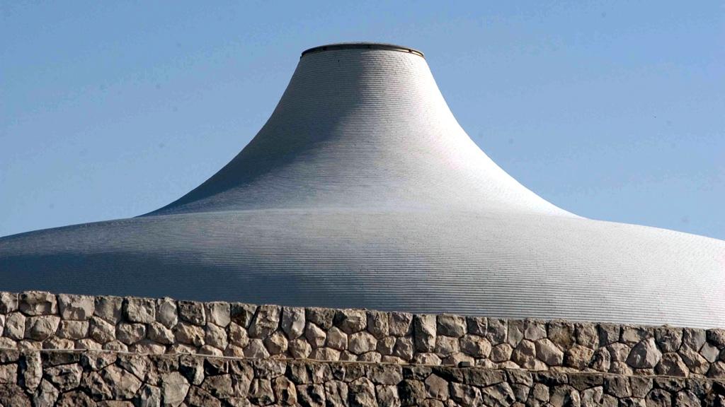 Храм Книги, место хранения свитков Мертвого моря. Фото с сайта presidentialprivatejetvacations.com
