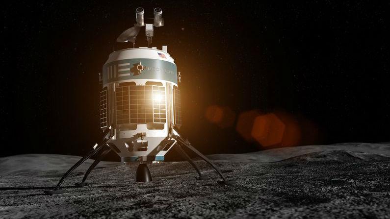 Цель компании √ добывать на Луне минералы.