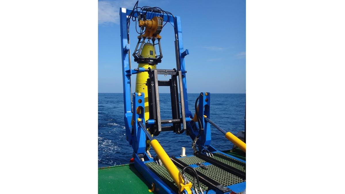 Основная заслуга в обнаружении и изучении затонувшего судна принадлежит подводному роботу под названием REMUS 6000.