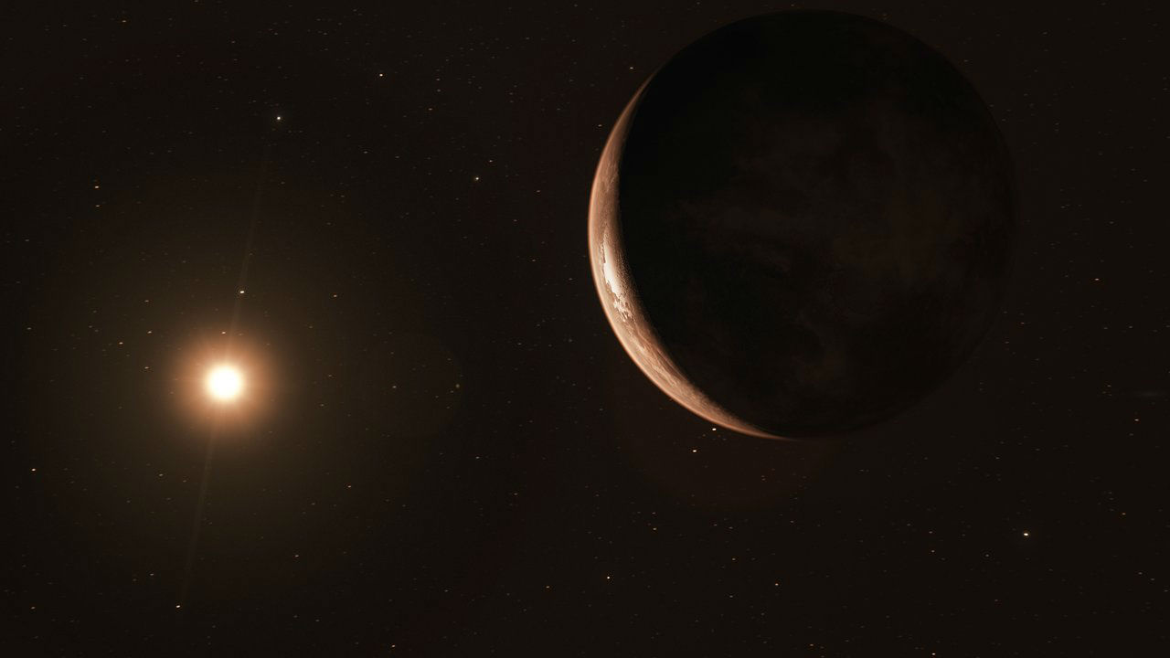 """Этот ледяной, слабо освещённый мир открыт в ходе одной из самых масштабных астрономических наблюдательных кампаний под названием """"Красные точки""""."""