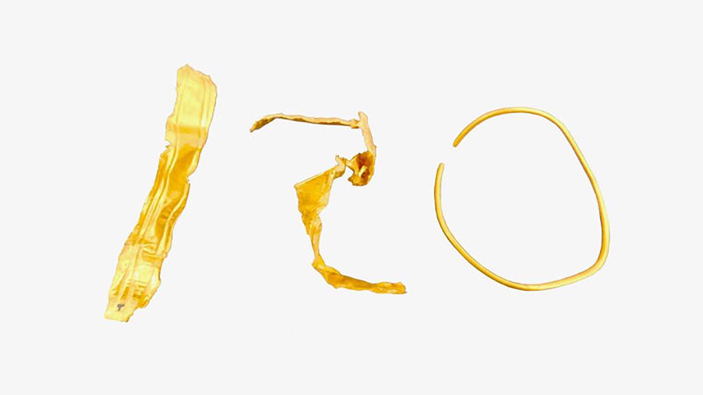 Золотые браслеты, найденные в Петрасе. Фото: Department of Antiquities of Greece