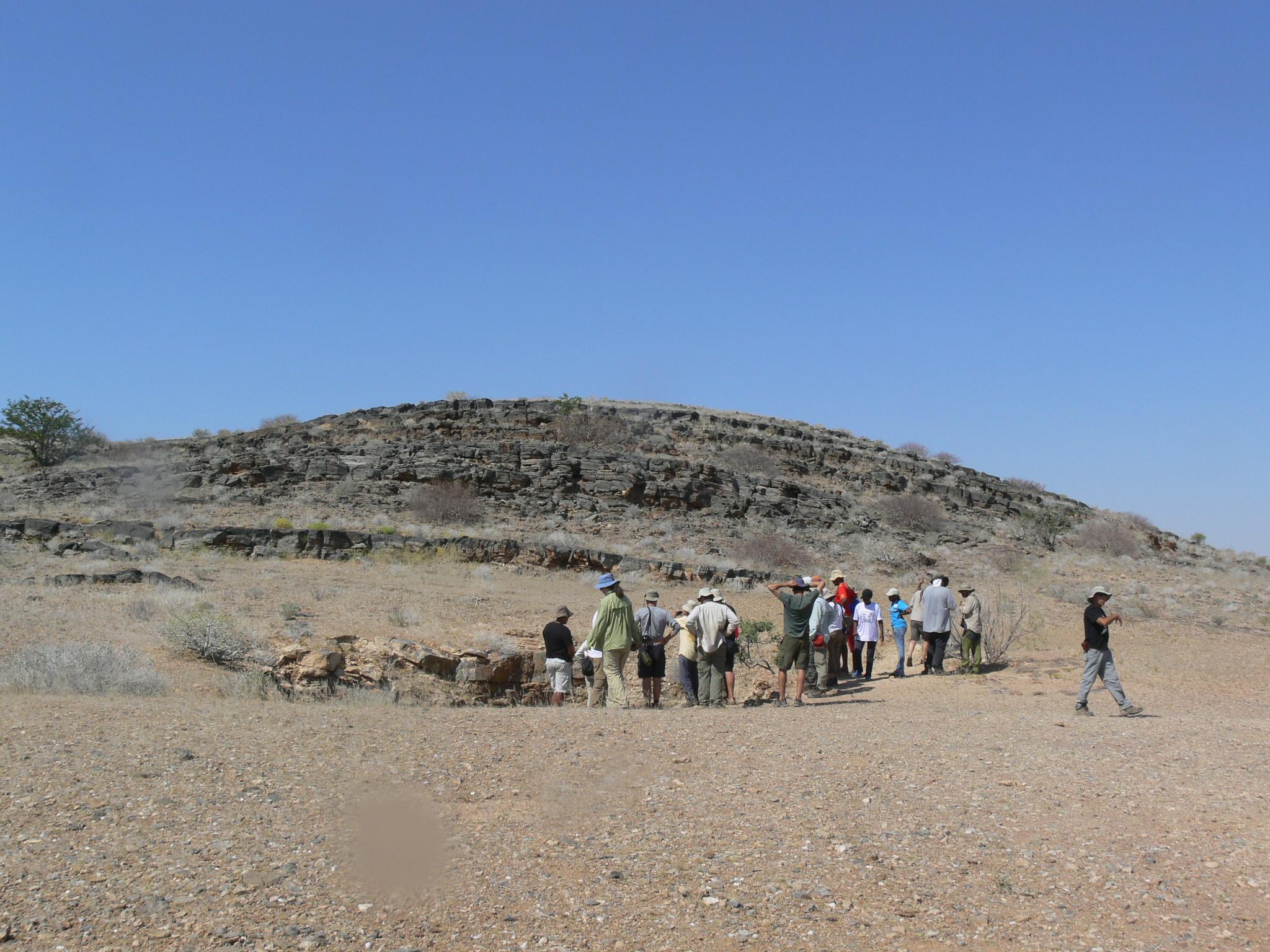 Геологи обнаружили образования в Намиии, указывающие на то, что эта область в прошлом была покрыта ледниковым щитом.