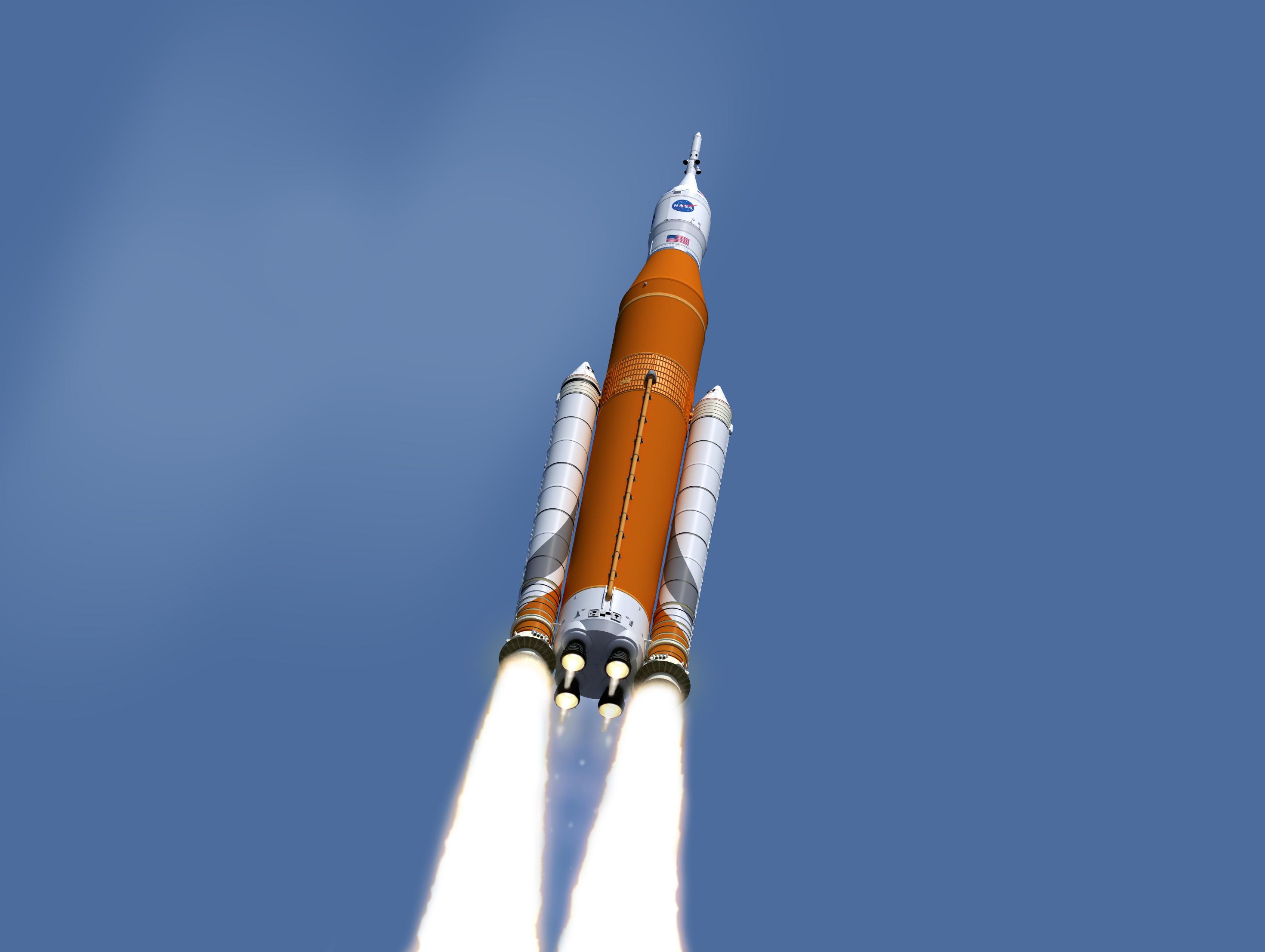 Сверхтяжёлая ракета SLS не будет готова к запуску в 2020 году.