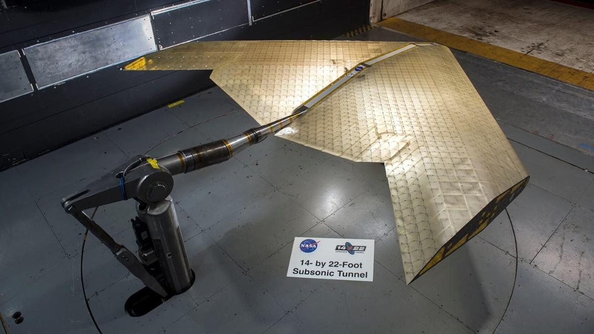 Первые испытания нового крыла в аэродинамической трубе специалисты признали успешными.