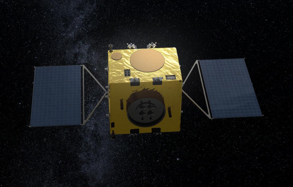 Автономный космический зонд зафиксирует изменение орбиты астероида.