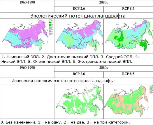 Экологический потенциал ландшафта и его предполагаемые изменения.
