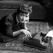 Франсуаза Саган. Париж. 1954 год