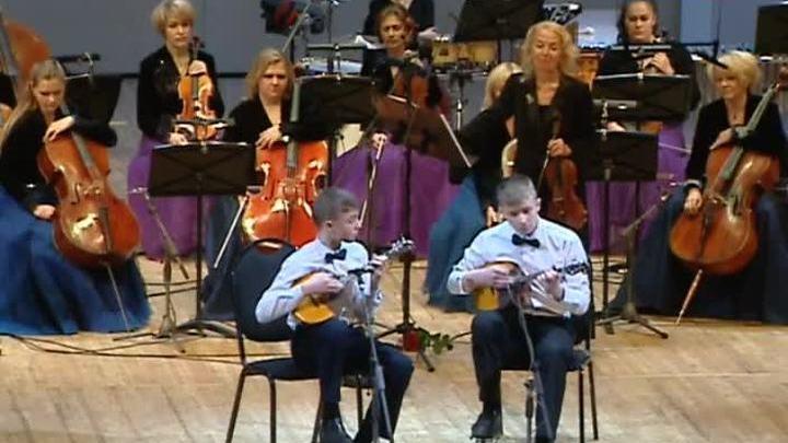 """""""Вивальди-оркестр"""" отметил старый Новый год вместе с участниками """"Синей Птицы"""""""