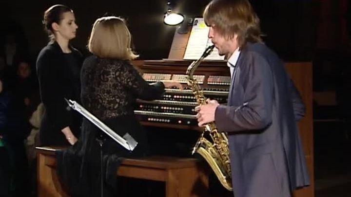 Саксофон и орган звучали в Соборе Непорочного зачатия Пресвятой Девы Марии в Москве